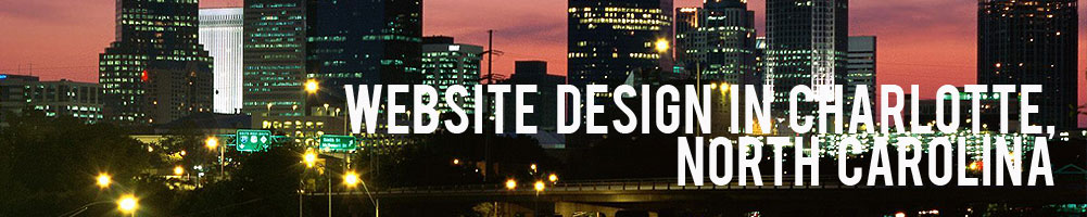 Website Design in Charlotte North Carolina