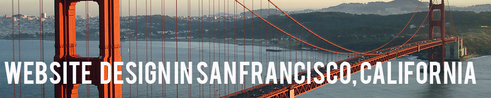 Website Design San Francisco California